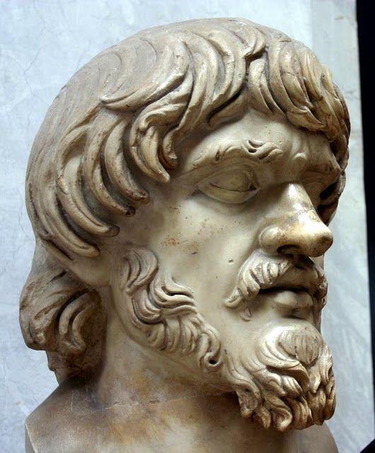 Dac head -Vatican museum
