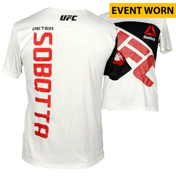 Peter Sobatta Ultimate Fighting Championship Fanatics Authentic UFC 193: Rousey vs. Holm Event-Worn Walkout Jersey - Fought Kyle Noke in a Welterweight Bout - $199.99