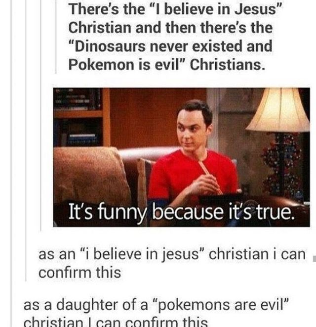 "And as another ""I believe in Jesus Christian"" I can confirm that this is absolutely true and I know both types"