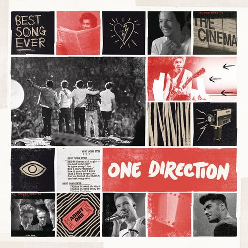 One Direction: Best song ever (CD Single) - 2013.