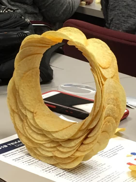 Engineering Challenge  Can You Make A Pringles Ring