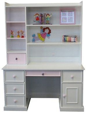 Desk idea.....not too sure if will suit her room as not very modern?