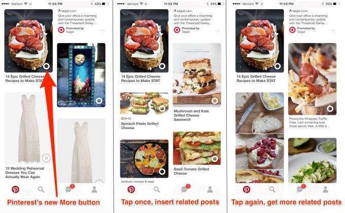 Every feed app should steal Pinterest's 'more like this' button | TechCrunch