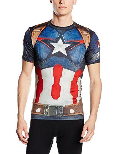 Under armour chaussettes de compression-shirt captain america: Type: Compression Coloris: Rouge Couleur 2: Bleu Cet article Under armour…