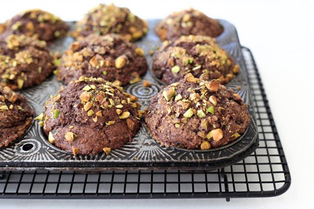 Chocolate-zucchini-muffins | For Loaf of Baking | Pinterest