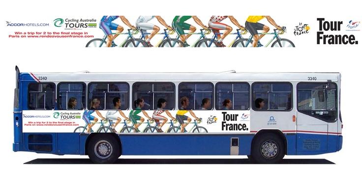 2012 Tour De France bus campaign