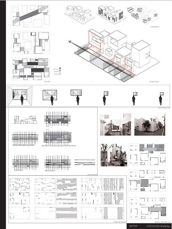 Moriyama House Analysis on Behance