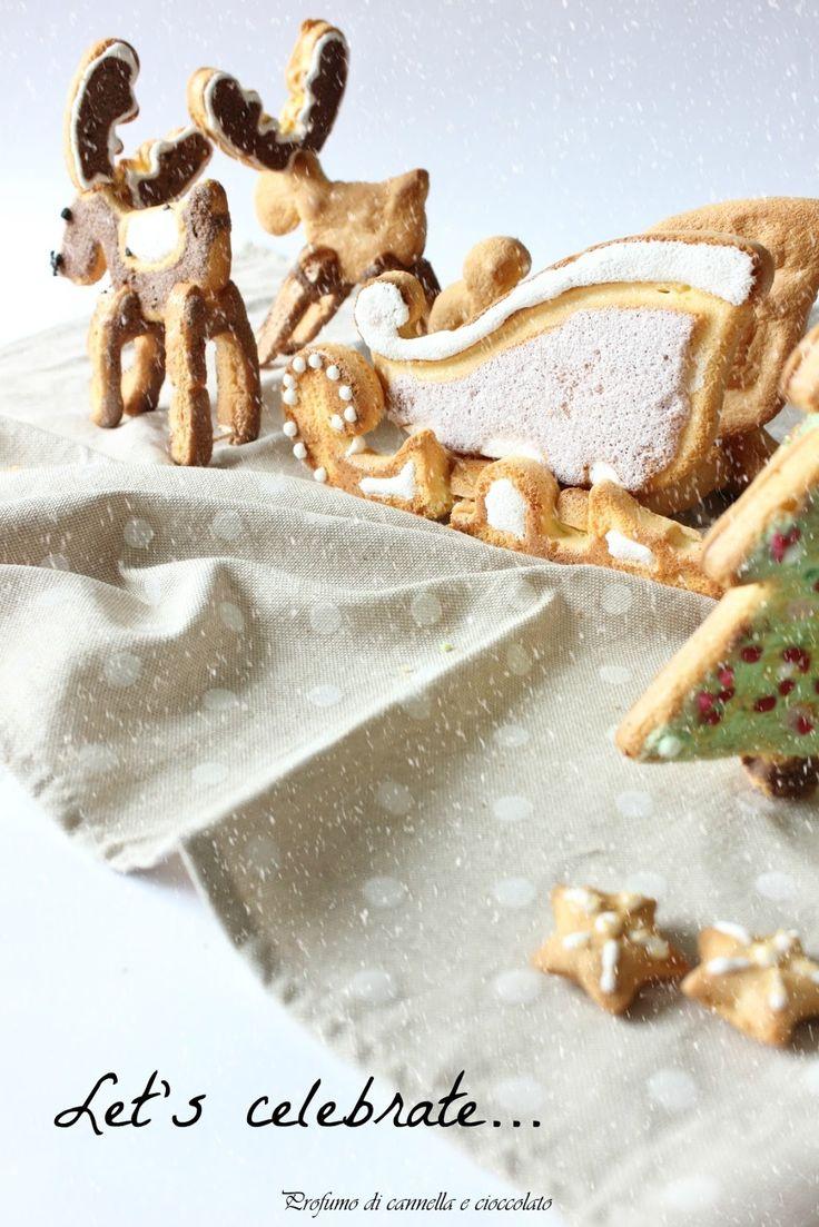 Profumo di cannella e cioccolato: Slitta di babbo Natale