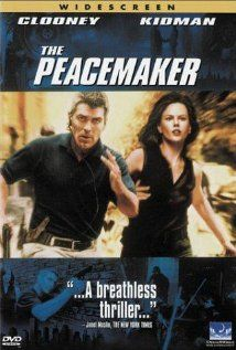The Peacemaker (1997). I noticed a trend in the 90s where there were a lot of action movies with a male-female couple in leading roles. This film is one of them.