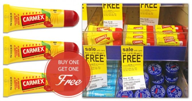 New Coupon: Carmex Lip Balm, Only $0.65 at Walgreens!
