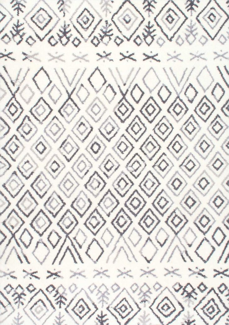 How fabulous is this Rugs USA's Millerton HD04 Hand Tufted Tribal Moroccan Diamond Rug?! We're obsessed!