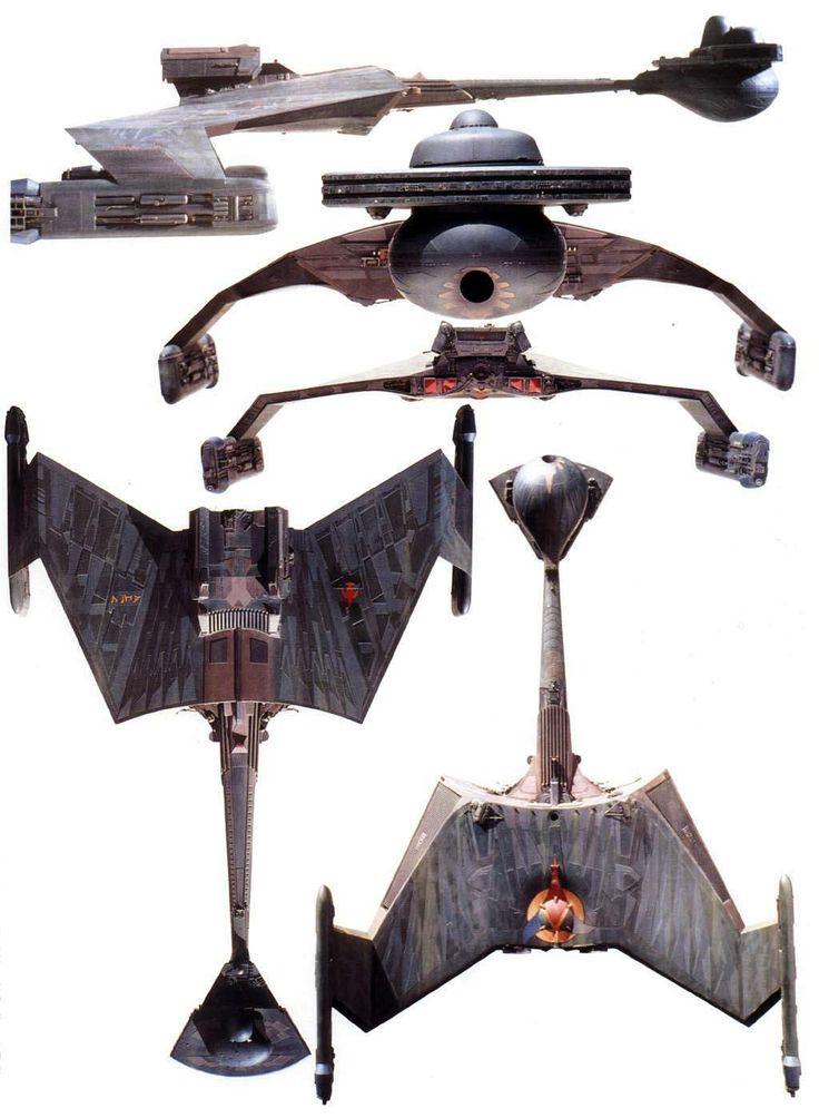 The Klingon ship AMAR, K'Tinga class, from STAR TREK: THE MOTION PICTURE #klingon #startrek