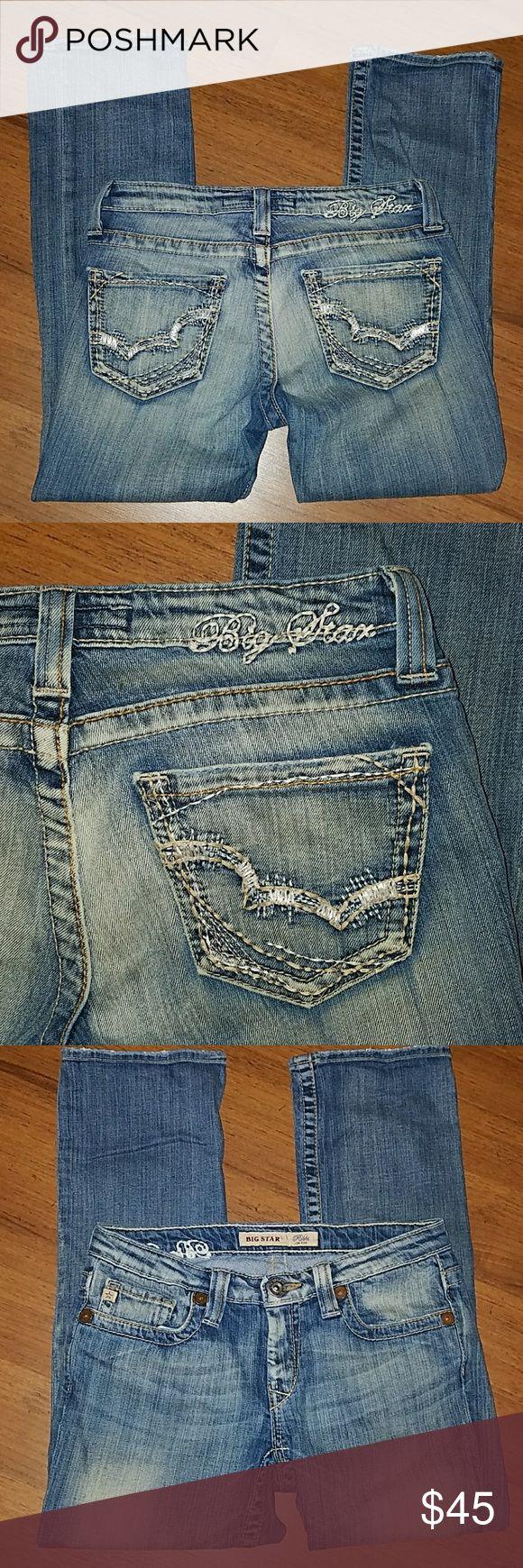 Big Star Capri Jeans Rikki low-rise size 27 Big Star Capri Jeans Rikki low-rise size 27. Inseam is 25 inches. Big Star Jeans