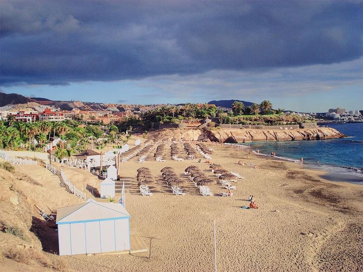 #Beach before the #storm at #Tenerife from 2008/2009 I think