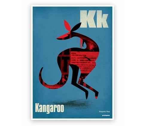 Kangaroo Kids Poster