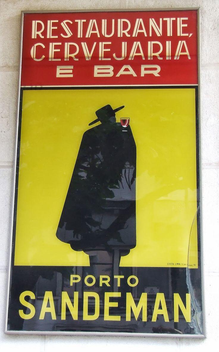 Poster Porto Sandeman-Portugal
