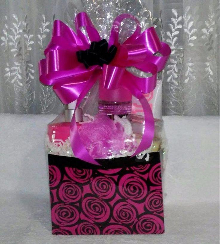 Victoria's Secret PINK FRESH & CLEAN Fragrance, Lotion & Body Scrub Gift Basket #VictoriasSecret