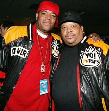 Yo! MTV Rap hosts Ed Lover & Doctor Dre