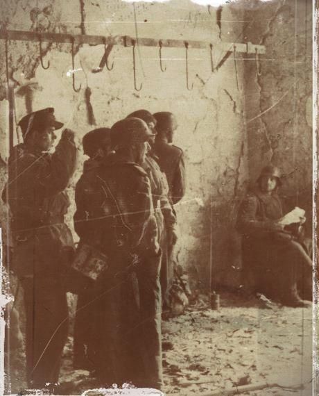 soldats allemands à Cassino
