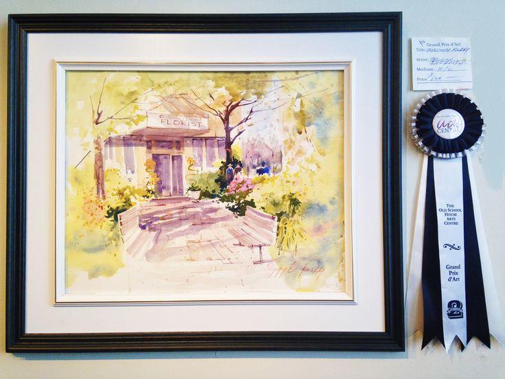 Grand Prix d'Art 2015 Winner - Qualicum Beach British Columbia Canada