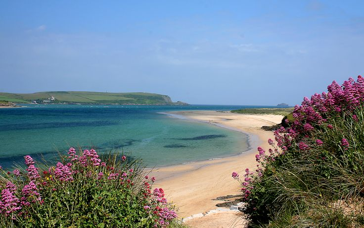 One of the most beautiful places in North Cornwall The Camel Estuary in Rock