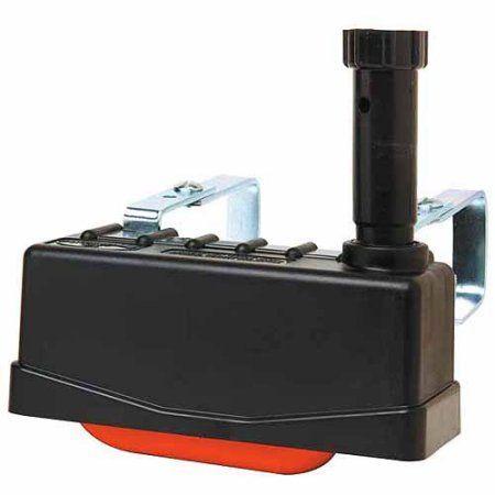 Miller Manufacturing Plastic Trough-O-Matic Anti-Siphon Float Valve, Black