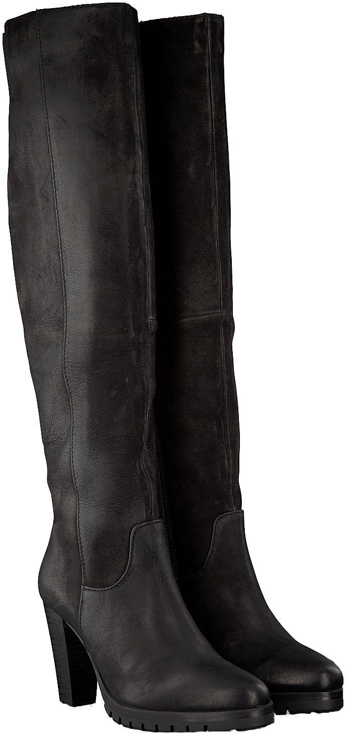Zwarte Omoda Lange laarzen 14856308