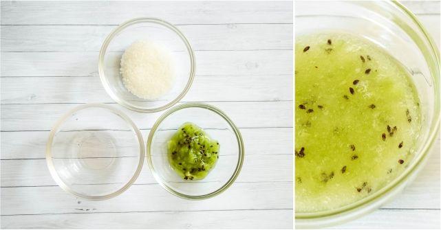 Kiwi Sugar Scrub #beauty #beautyblogger #beautyblog #bblogger #bblog #DIYbeauty #sugarscrub #bodyscrub #DIYscrub
