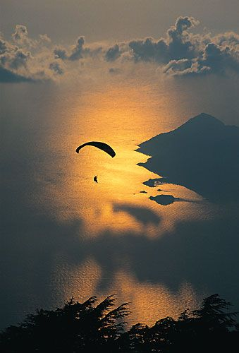 Ölüdeniz'de paragliding - Mugla
