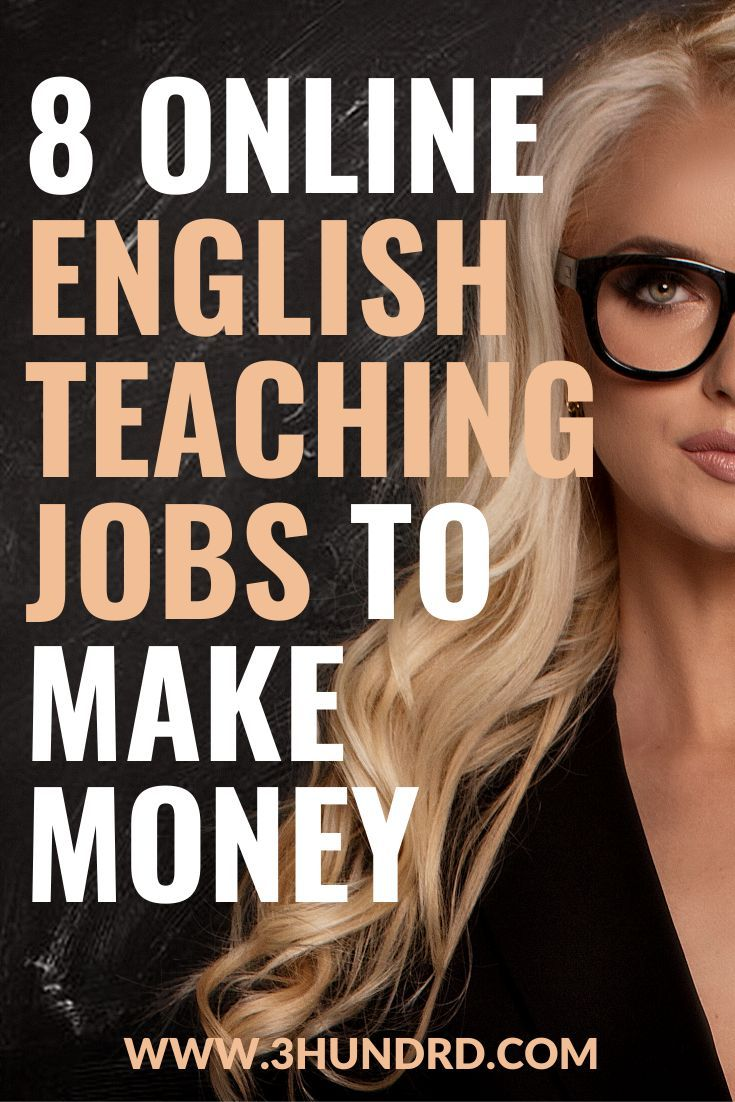 8 online english teaching jobs to make money with images