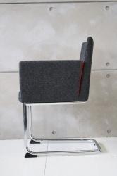 Paco slede stoel van Artifort (Paco.antr-rood) - Design4ever | Design Outlet