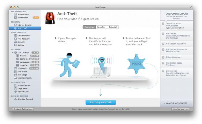 MacKeeper 1.9 Crack Plus Activation Code, Keygen Download