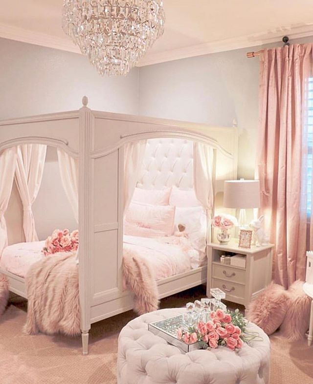 A Little Girls Princess Room Princess Girl Bedroom Designs Pink Bedroom For Girls Girl Room
