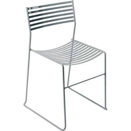 Emu Aero Stackable Chair - metal. Aluminum
