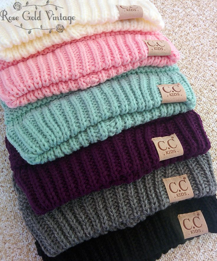 Childrens CC Beanies - Multiple Colors – Rose Gold Vintage