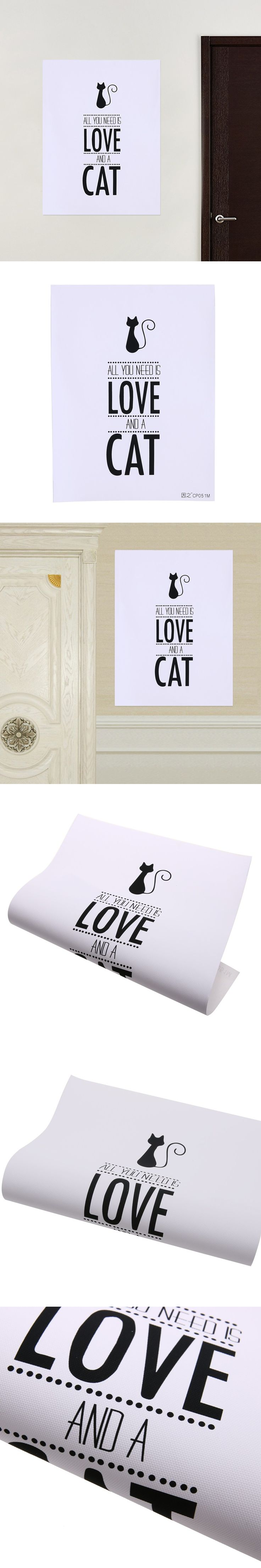 best 25 minimalist wall stickers ideas on pinterest triangle 30 40cm black cat frameless wall stickers modern minimalist wall paintings canvas cat figure room wall picture home decor ca1t