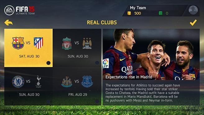 EA Sports FIFA 15 Game Screenshot
