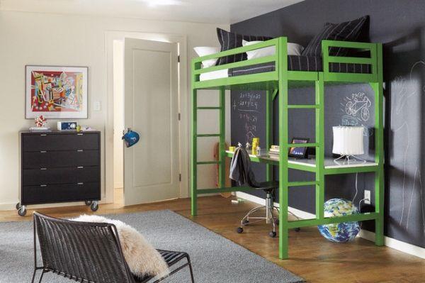 дизайн подростковой комнаты 3*4,5 кровать чердак рабочее место - Поиск в Google