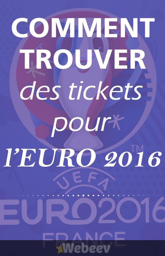 L'astuce pour encore trouver des tickets pour l'Euro 2016 en ligne. Assistez aux plus beaux matchs de foot de l'équipe de France pour l'Euro2016 https://www.webeev.fr/top/plan-acheter-billets-euro-2016/