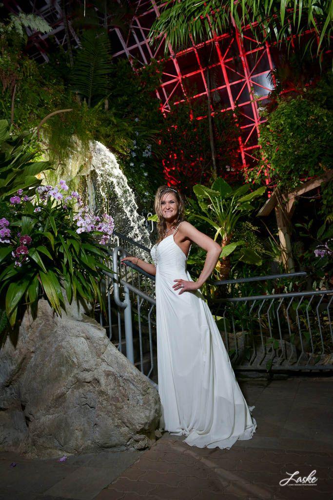 Bridal Portrait Inside The Gardens Wedding Pictures Photographer