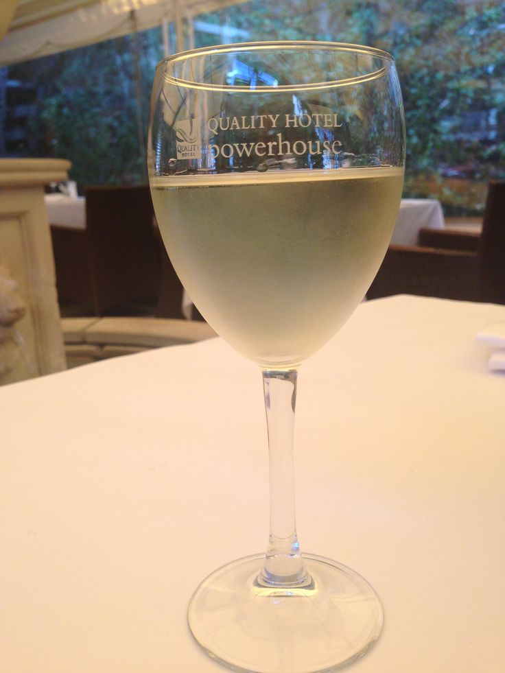Enjoy a delicious chilled white with lunch.