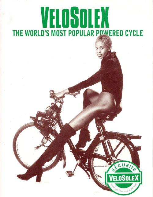 Mopeds designer Velosolex