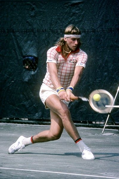 Bjorn Borg. Love his style  My first favorite tennis player.