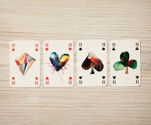 Monja GENTSCHOW / rencontre entre l'art et le jeu …: Cards Design, Drinks Games, Cards Decks, Monja Shops, Monja Gentschow, Graphics Design, Watercolor Cards, Cards Games, Plays Cards