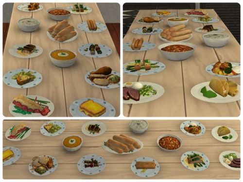 """Trying to clean out my """"Work Folder"""" - Sims4-Sims2 Food 1"""