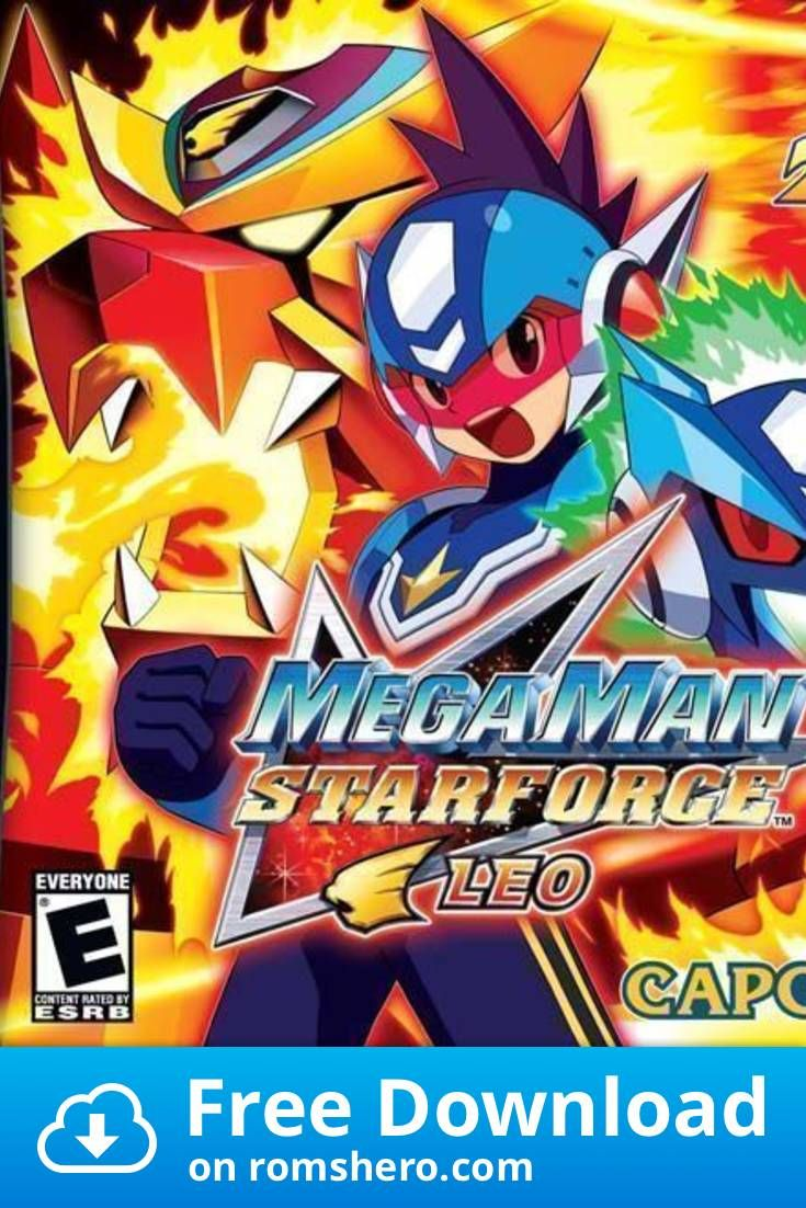 Download Megaman Star Force Leo Nintendo Ds Nds Rom In 2020
