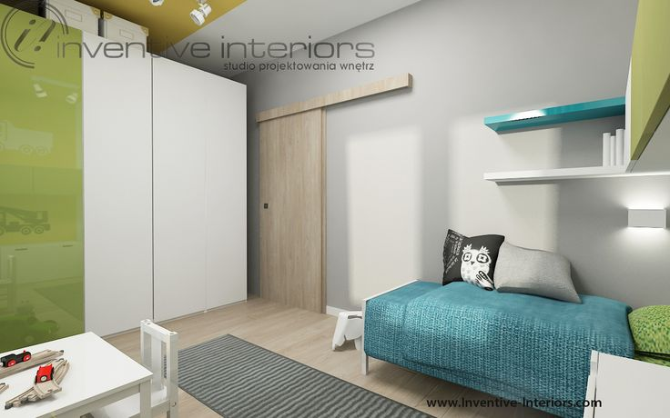 Projekt pokoju dziecka Inventive Interiors - nowoczesny pokój dziecięcy