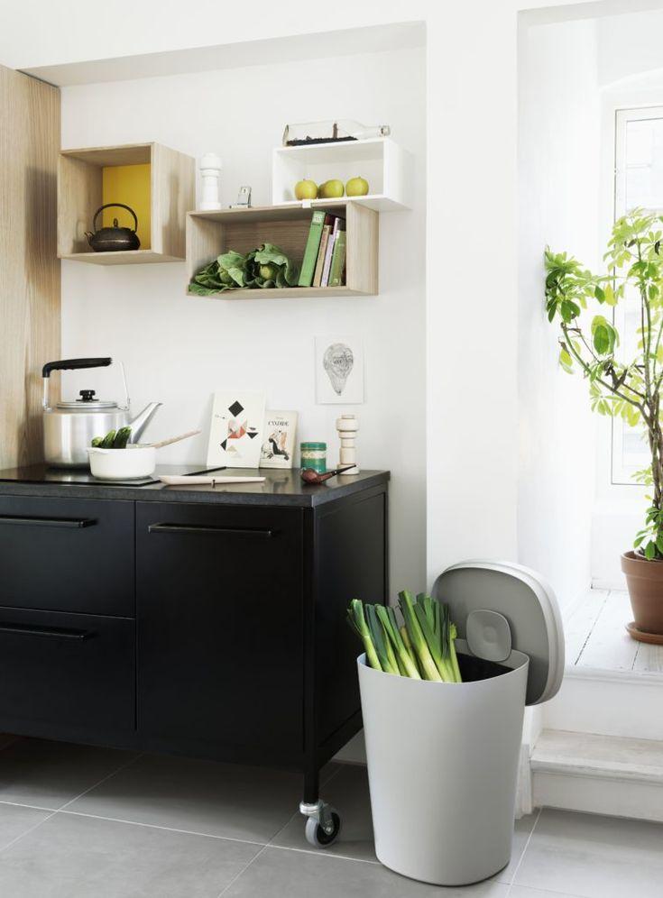 offene Küchenregale - Muuto Stacked Regale an der Wand