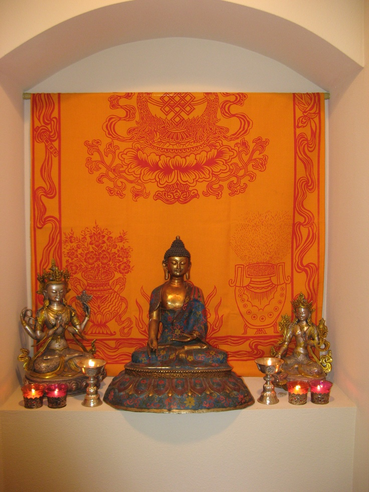Buddhist House Altar