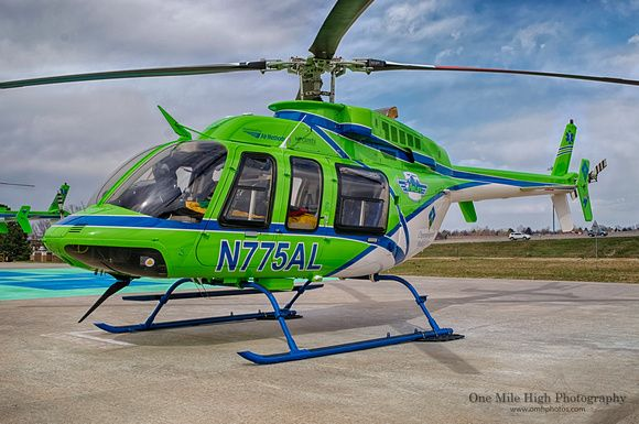 One Mile High Photography   Medical Aircraft   Bell 407 (N775AL ...